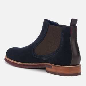 Ted Baker Men's Secaint Suede Chelsea Boots - Dark Blue: Image 2