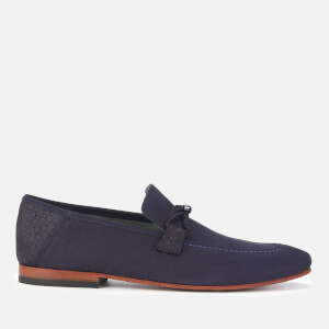 Ted Baker Men's Daveon Nubuck Loafers - Dark Blue