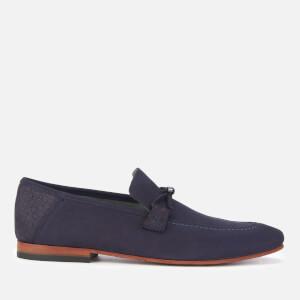 Ted Baker Men's Daveon Nubuck Loafers - Dark Blue
