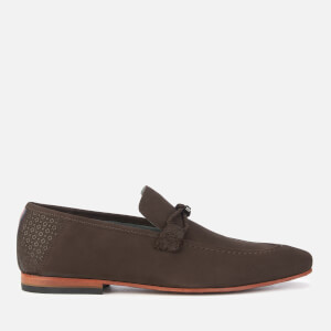 Ted Baker Men's Daveon Nubuck Loafers - Dark Brown