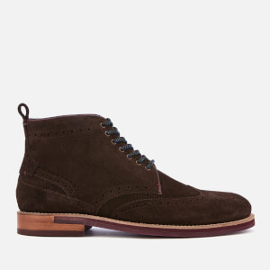 Ted Baker Men's Shennjo Suede Lace Up Boots - Brown