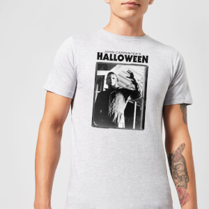 T-Shirt Homme Halloween Framed Mike Myers - Universal Monsters - Gris