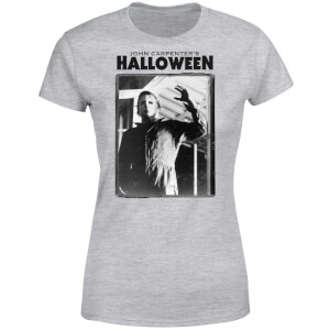 T-Shirt Femme Halloween Framed Mike Myers - Universal Monsters - Gris