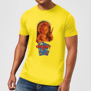 T-Shirt Homme Out Of The Box Chucky - Jaune