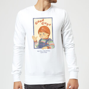 Chucky Good Guys Retro Sweatshirt - White