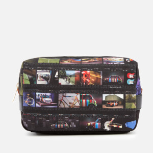 Paul Smith Men's Mini Film Strip Wash Bag - Black
