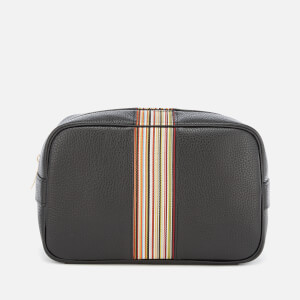 Paul Smith Men's Leather Wash Bag - Black