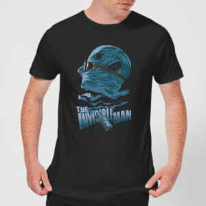 T-Shirt Homme L'Homme Invisible - Universal Monsters - Noir