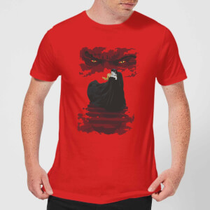 T-Shirt Universal Monsters Dracula Illustrated - Rosso - Uomo