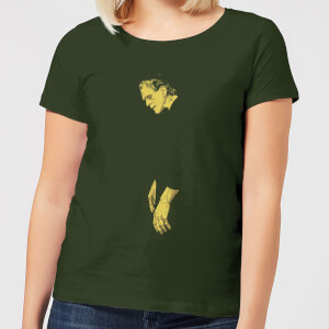 Universal Monsters Frankenstein Illustrated Women's T-Shirt - Forest Green