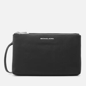 MICHAEL MICHAEL KORS Women's Adele Double Zip Cross Body Bag - Black