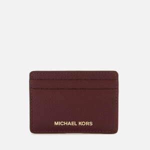 MICHAEL MICHAEL KORS Women's Money Pieces Card Holder - Oxblood