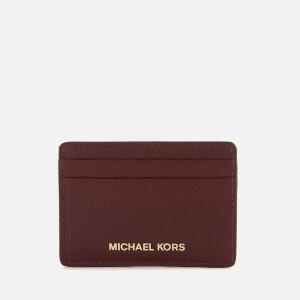 MICHAEL MICHAEL KORS Women's Money Pieces Card Holder - Oxblood