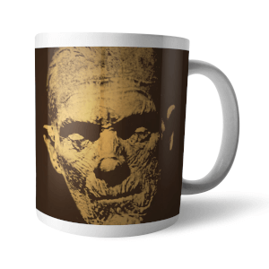 Taza Universal Monsters La momia Retro