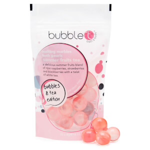Bubble T Summer Fruits Tea Melting Marble Oil Bath Pearls -kylpyhelmet 25 x 4g