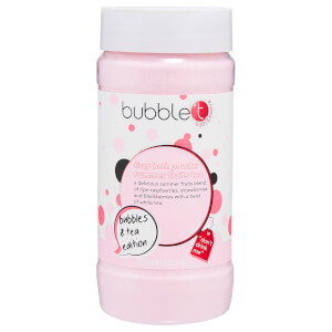 Bubble T Summer Fruits Tea Fizzy Bath Powder -kylpyjauhe 300g