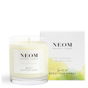 NEOM Organics London Feel Refreshed 1 Wick Scented Candle (Free Gift)