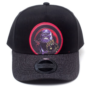 Marvel Avengers Men's Thanos Curved Bill Cap - Black