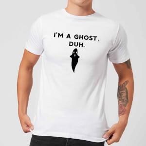 I'm A Ghost, Duh. Men's T-Shirt - White