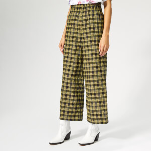 Ganni Women's Charron Trousers - Aloe