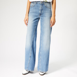 Ganni Women's Camfield Jeans - Bleached Denim
