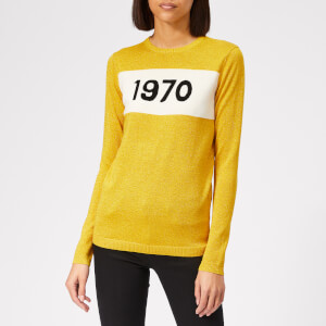 Bella Freud Women's 1970 Sparkle Jumper - Citric Yellow