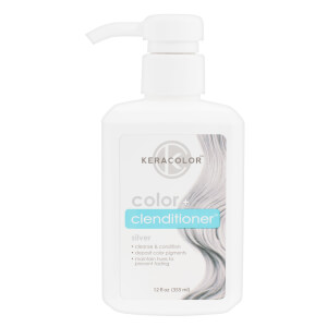 Keracolor Colour + Clenditioner - Silver 355ml
