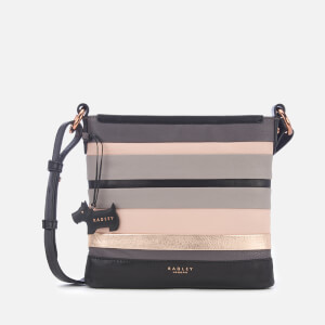 Radley Women's Eaton Hall Medium Zip-Top Cross Body Bag - Charcoal