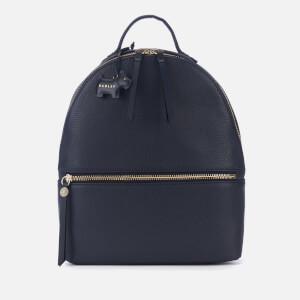 Radley Women's Fountain Road Medium Backpack Zip Top Bag - Ink