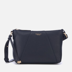 Radley Women's Wood Street Medium Zip Top Cross Body Bag - Ink