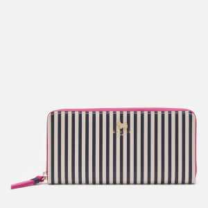 Radley Women's College Green Large Matinee Zip Around - Stripe