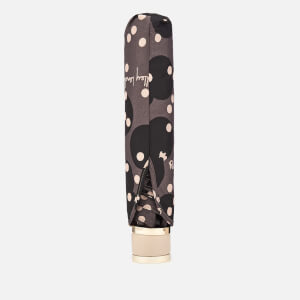 Radley Women's Clouds Hill Telescopic Mini Umbrella - Charcoal