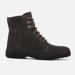 Tod's Men's Lace Up Boots - Black