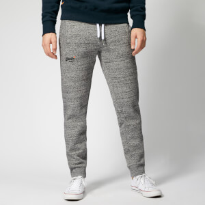 Superdry Men's Orange Label Joggers - Flint Grey Grit