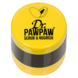 Esfoliante e Bálsamo Scrub & Nourish do Dr. PAWPAW