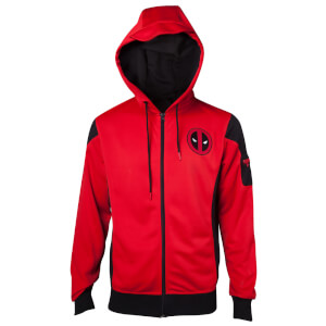 Marvel Deadpool Men's Hoody - Red