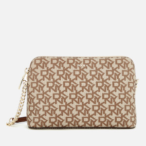 DKNY Women's Bryant Dome Cross Body Bag - Cream