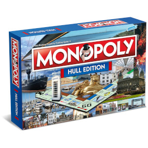 Monopoly Board Game - Hull Edition
