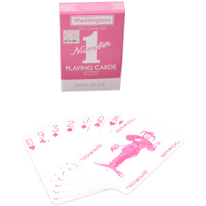 Waddingtons No. 1 Playing Cards - Pink Edition