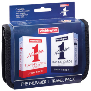 Waddingtons No. 1 Playing Cards - Bridge Travel set