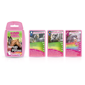 Classic Top Trumps - Horses Ponies and Unicorns