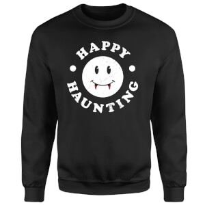 Happy Haunting Sweatshirt - Black