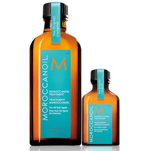 Moroccanoil Treatment 100ml with free Moroccanoil Treatment 25ml (Worth £46.30)