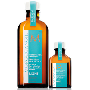 Moroccanoil Treatment Light 100ml with Free Moroccanoil Treatment Light 25ml