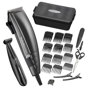 BaByliss for Men 22 Piece Home Hair Cutting Kit -kotiparturisetti
