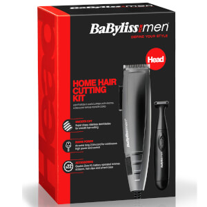 BaByliss For Men 22 Piece Home Hair Cutting Kit: Image 4