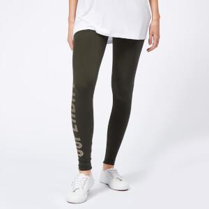 Superdry Women's Andi Leggings - Military Khaki