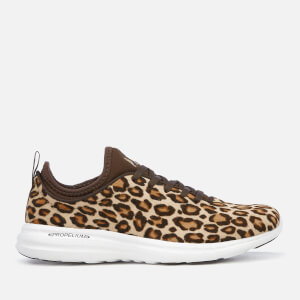 Athletic Propulsion Labs Women's Phantom Calf Hair Trainers - Cheetah