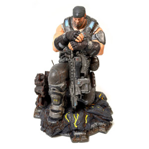 Statuette Gears of War 3 Édition Collector Marcus Fenix 30cm en PVC