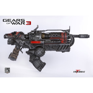 "Gears of War 3 Replica 1/1 Locust Hammerburst II 35"""" Long"